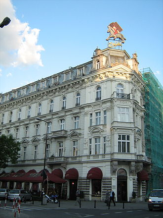 E. Wedel - Original Wedel building in Warsaw