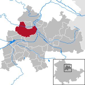 Weißensee, Thuringia - Image: Weißensee in SÖM