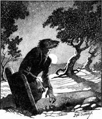 WeirdTalesv36n2pg038 The Werewolf Howls.png