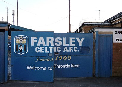 How to get to Farsley Celtic Afc, The Oval Stanningley Pudsey LS28 5