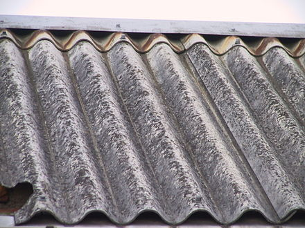Corrugated asbestos roof (with Fibre cement) Wellasbestdach-233-3354 IMG.JPG