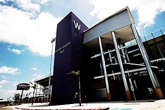 Weslaco High School - Bobby Lackey Home side entrance