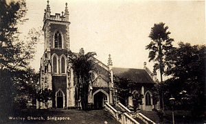 WESLEY METHODIST CHURCH, Singapore - Wikipedia, the free encyclopedia