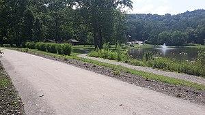 Westmoreland Heritage Trail - The Westmoreland Heritage Trail in B-Y Park; Trafford, PA