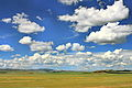 Widoki mongolskiego krajobrazu widziane z minibusa Karakorum - Ułan Bator (25).jpg