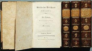 1795/96 Novel by Johann Wolfgang von Goethe