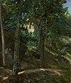 Wilhelm Trübner - Schlosspark in Lichtenberg im Odenwald (1900).jpg