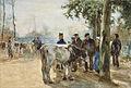 Willem de Zwart - De veemarkt.jpg