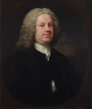 Benjamin Hoadly (physician) - Dr. Benjamin Hoadly, portrait by William Hogarth