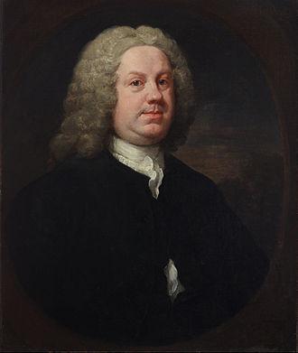 Benjamin Hoadly (physician) - Dr. Benjamin Hoadly, portrait by William Hogarth