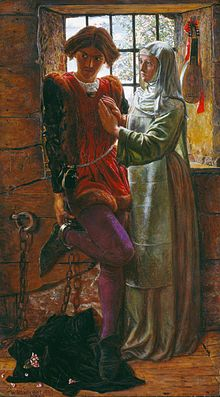 Claudiyo ve Isebella Ressam:William Holman Hunt