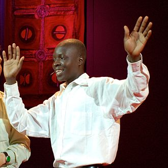 William Kamkwamba - Kamkwamba at TED in 2007