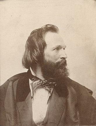 William Sidney Mount - 1867 ambrotype print