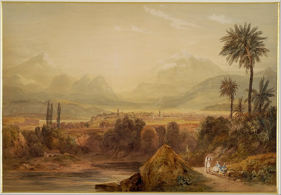 Williams Hugh William - View of Thebes - Google Art Project
