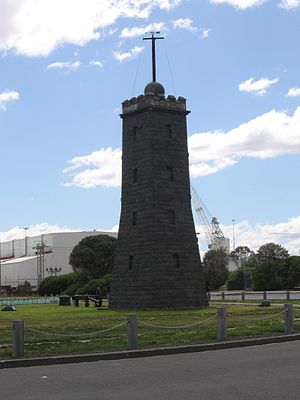 Williamstown Lighthouse - Timeball tower.