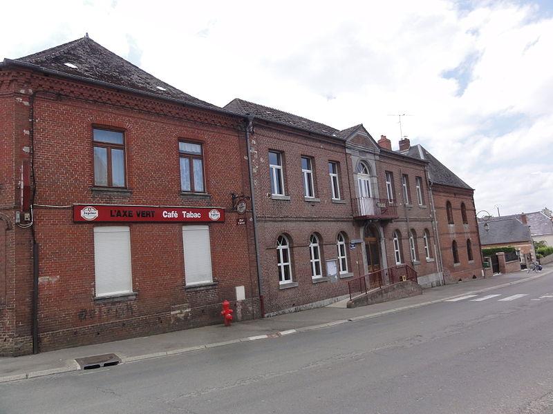 Wimy (Aisne) mairie