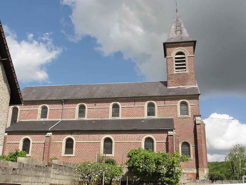 Wissignicourt (Aisne) église