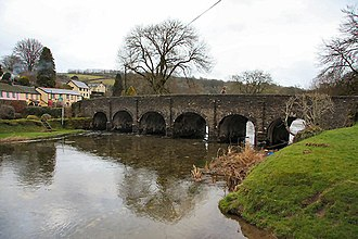 River Barle - The bridge at Withypool.