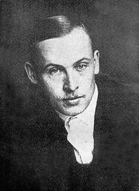 Witold Wojtkiewicz Polish Painter photographic self-portrait.jpg