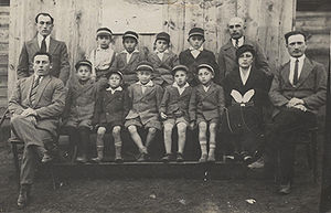 Wizna - The Tarbut Hebrew school in Wizna during the 1930s