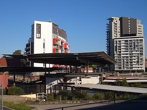 Wolli Creek, New South Wales - Image: Wolli Creek Railway Station