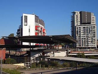 Wolli Creek, New South Wales - Image: Wolli Creek Railway Station