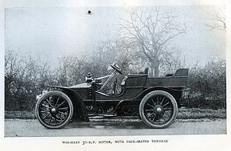 Wolseley Motors - 20hp shooting brake 1903