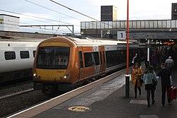 Wolverhampton - WMT 170511+170502 Shrewsbury service.JPG