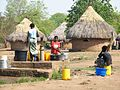 Women drawing water from the well in Zambia (2).JPG
