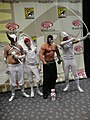 WonderCon 2011 Masquerade - DC's White Lantern Hawkman, Impulse, Green Arrow, and Bane (5594663046).jpg
