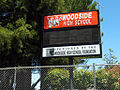 Woodside High School billboard.jpg