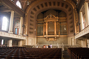 Newberry Memorial Organ - Newberry Memorial Organ at Woolsey Hall