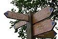 Worden park signpost.jpg