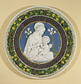 Workshop of Della Robbia family - The Virgin of the Lilies - Walters 27217.jpg