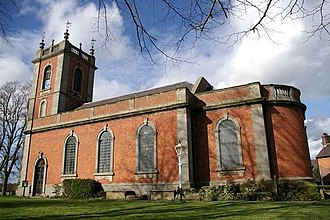 Willington Worthenbury - Image: Worthenbury Church