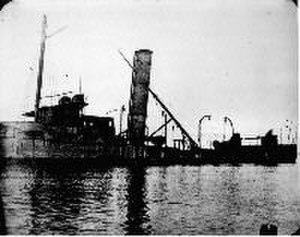 Spanish cruiser Isla de Luzón - The wreck of Isla de Luzón.