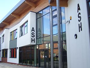 Wyke College - The Ash building, 2008
