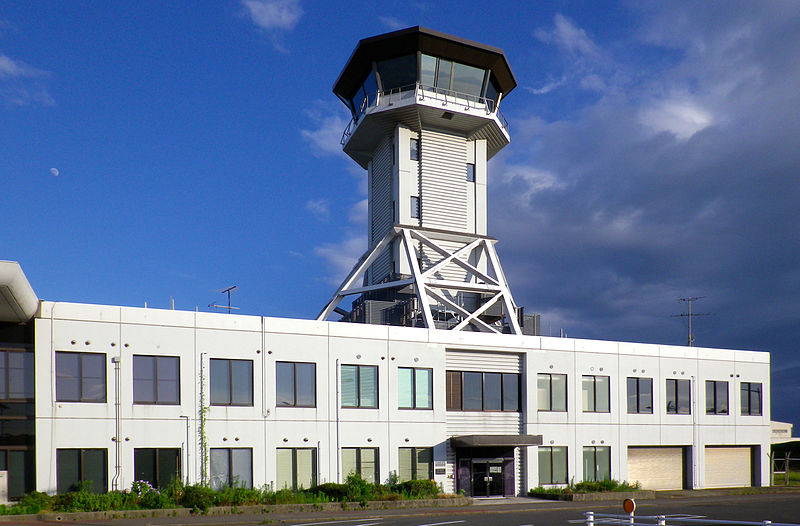 File:Yamaguchi Ube Airport Control Tower.jpg