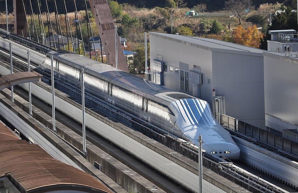 Yamanashi Maglev Test Track3d