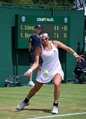 Yaroslava Shvedova - Shvedova at the 2012 Wimbledon Championships