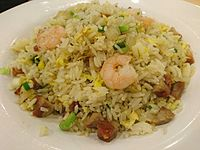 Yeung Chow Fried Rice in Hong Kong Fast Food Shop.JPG