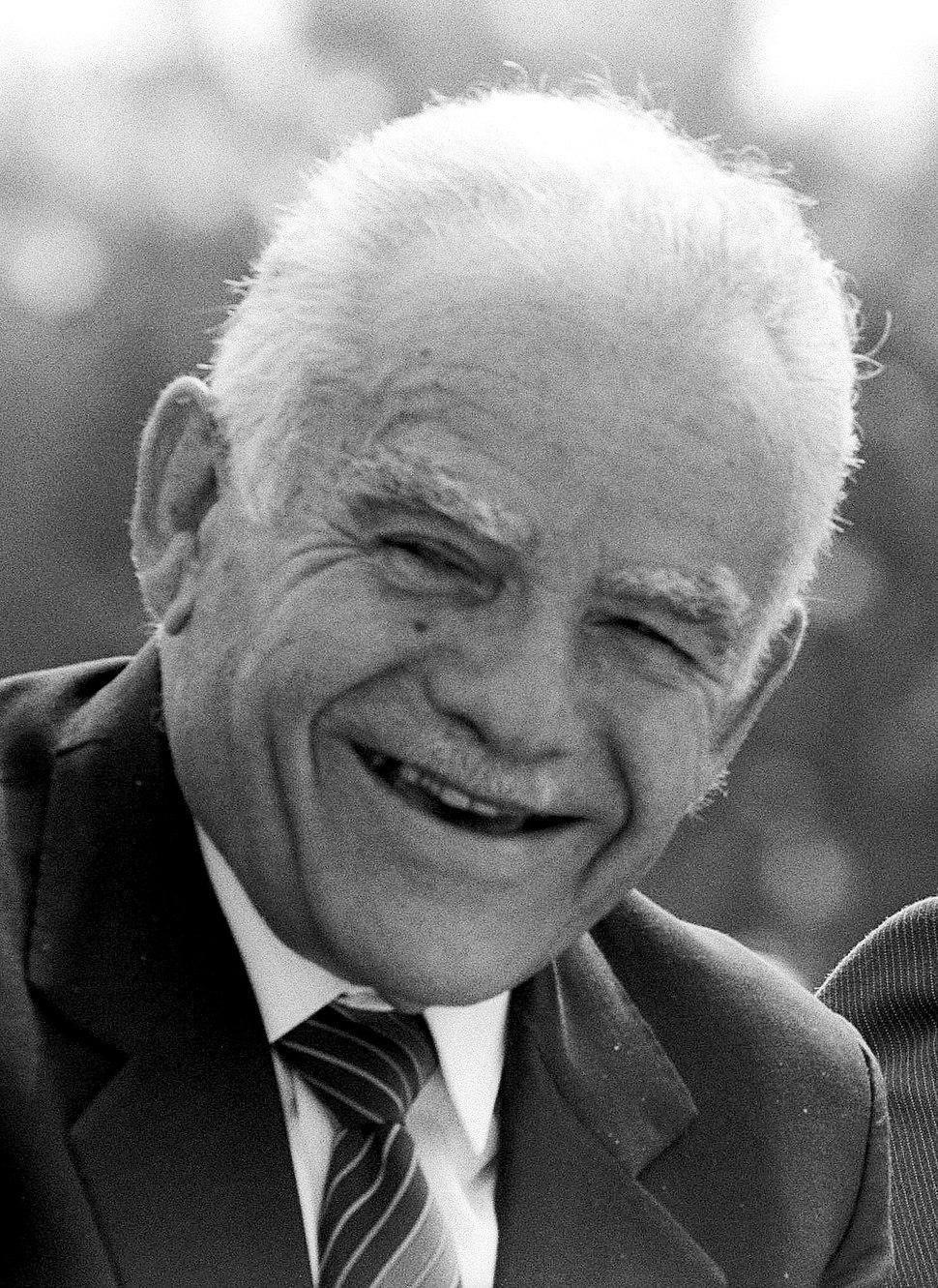 יצחק שמיר בשנת 1988