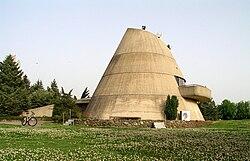 מבנה בית התרבות במושב