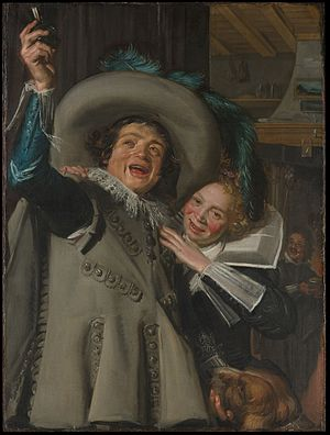 "Benjamin Altman - Image: Young Man and Woman in an Inn (""Yonker Ramp and His Sweetheart"") MET DP145899"
