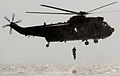 Young Officers Jump from Seaking Helicopter During Royal Marine Commando Course MOD 45152752.jpg