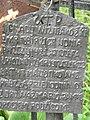 Zabytkowe groby na cmentarzu w Jazgarzewie k. Piaseczna (32b).jpg