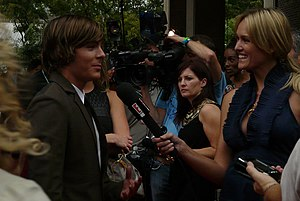 Zac Efron Arrives at Tiff '08 Premiere of Me a...