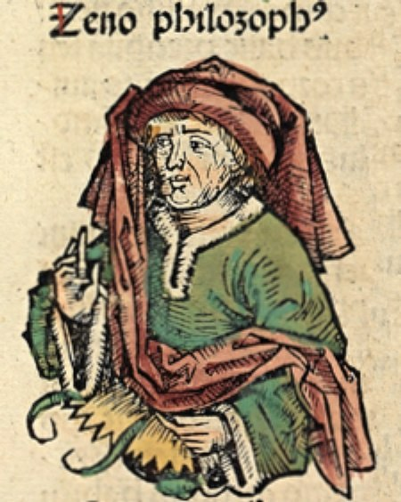 Zeno of Citium Nuremberg Chronicle