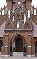 Zespół kościoła (1912-1913) kościół p.w. Przemienienia Pańskiego (brama front) - Malowa Góra gmina Zalesie powiat bialski woj. lubelskie ArPiCh A-194.JPG