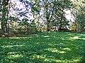 Zespół kościoła p.w. Wniebowzięcia NMP - cmentarz przykościelny (fot.2) - Bystrzyca, gmina Wólka, powiat lubelski, woj. lubelskie ArPiCh A-563.JPG